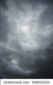 Vertical Stormy Sky background