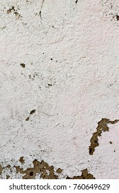 The vertical view of old,white, grey grunge concrete texture or background. Copy space. graphical resource
