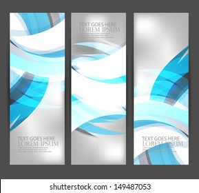 vertical web banners