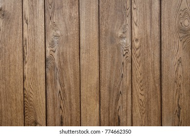 Vertical wooden panel background brown soft