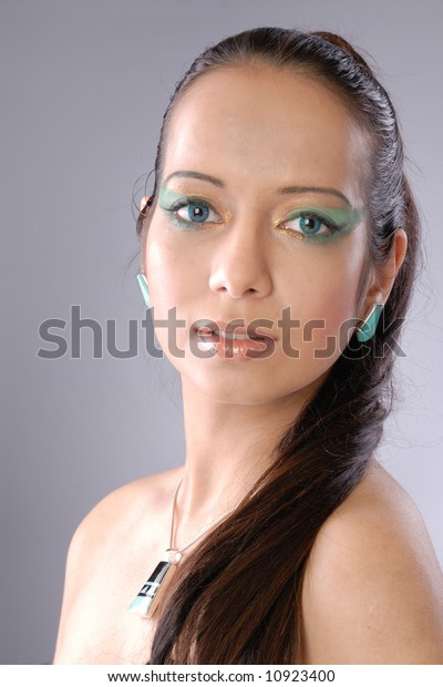 Attractive egyptian woman