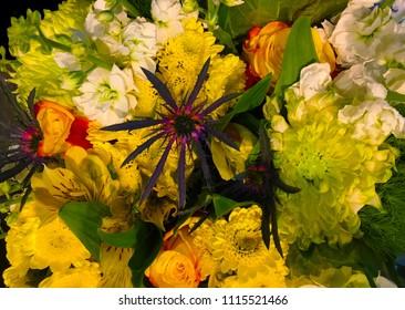 A very beautiful Assortment Bouquet of Flowers
