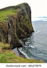 Very beautiful cliff at Skye