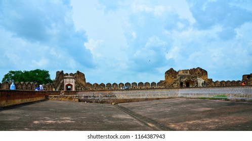 Very beautiful construction in Jhansi Fort under Archaeological Survey of India located at Jhansi city Uttar Pradesh India