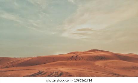 very Beautiful Desert In Khuri