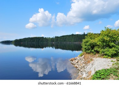 Very beautiful lake in the Reserve Kolovesi. Finland