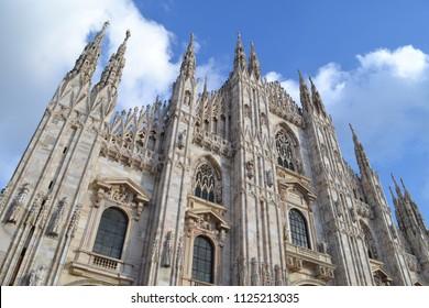 Very beautiful photo in Italy. Duomo in Milano