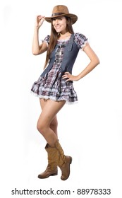 Very beautiful and super sexy country and western girl
