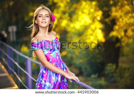 Very Beautiful Young Girl Portrait Teenager Stock Photo Edit Now