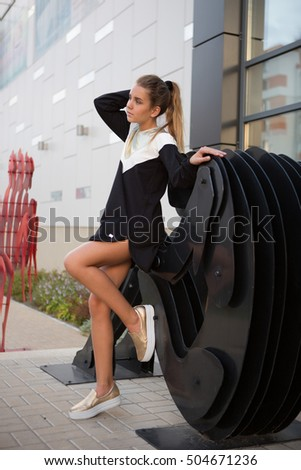 Long legs teen free photos