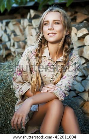 lovely models young Ukrainian