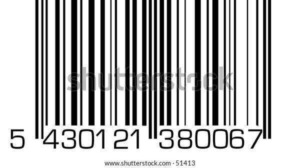 A very big barcode.