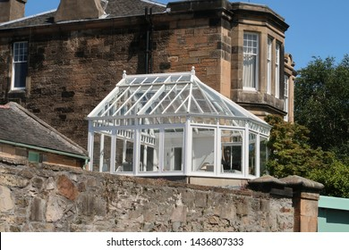 a very British conservatory in the sun