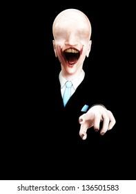 Very creepy  figure
