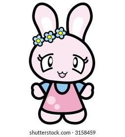 Very Cute Japan Rabbit