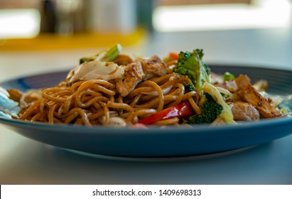 Very delicious Chicken Yakisoba Noodle 2.