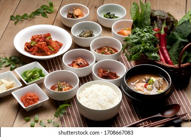 a very delicious Korean traditional food