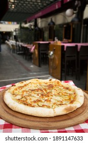 a very delicious pizza for lunch or dinner