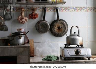 Very dirty kitchen
