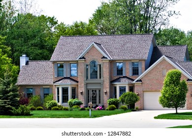 A very expensive home in a suburb of Cleveland Ohio.