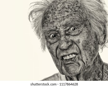 Very Funny Image of a 90 Year old actor