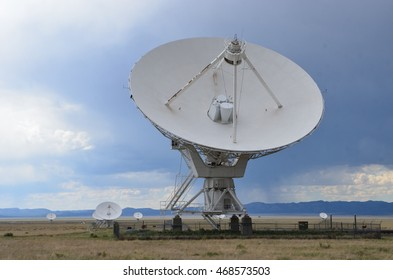 Very Large Array satellite dishes, New Mexico, USA