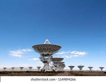 Very Large Array (VLA) radio observatory astronomy complex, near Sorocco, New Mexico, USA