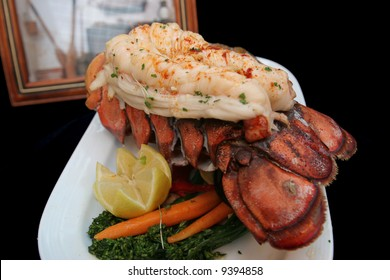 Very large, very succulent , very good Australian Lobster Tails