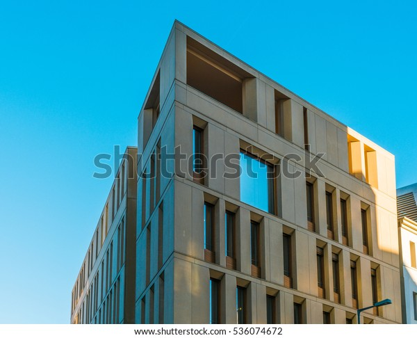 Very Modern Contemporary Architecture Stock Photo (Edit Now) 536074672