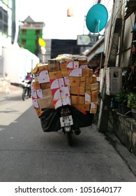 very much box on postman bike