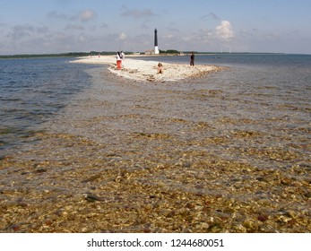 The very narrow Sõrve peninsula located south of the island Saaremaa in Estonia.