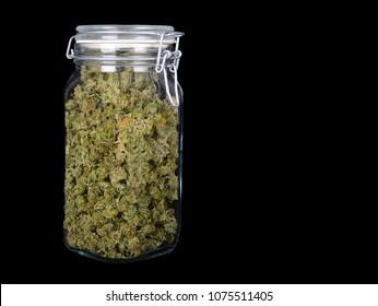 Very Nice 3 Ounce Jar Of Indica Marijuana with High CBD content