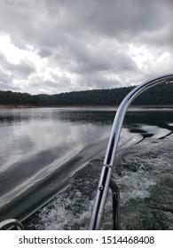 a very nice boat ride on Broken bow lake at Oklahoma