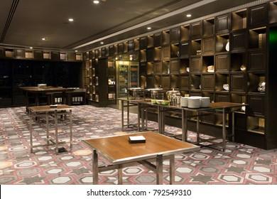 The very nice dining interior room