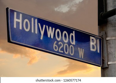 Very Nice Image Of the Famous Hollywood Blvd.