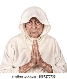 Very nice image of a Senior man Praying