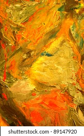 very Nice large scale Abstract oil Painting On Canvas