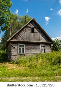 very old abandoned house in Poland