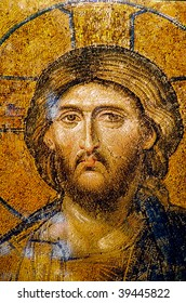 Very old and beautiful Jesus Christ Portrait face from Istanbul. Useful file for your christmas brochure, religious material and other purposes.