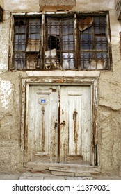 Very old door in Tokat, turkey