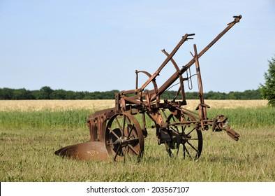 Old Farm Equipment Images Stock Photos Vectors Shutterstock