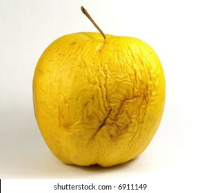 Very old golden apple