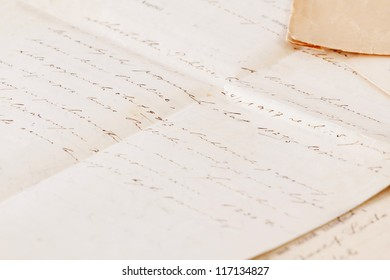 very old handwritten text contract or agreement