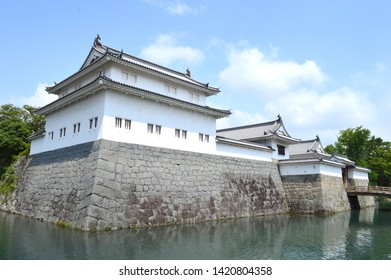 Very Old Japanese Castle From The Edo Era