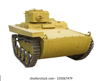 Very old tank