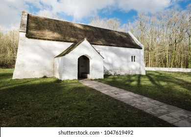 very old welsh church in wales