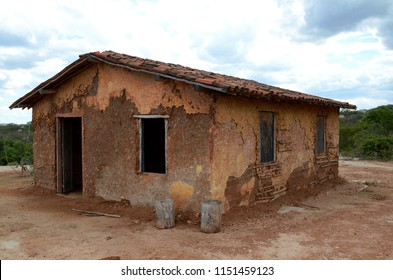 A very poor house in the brazilian northeast