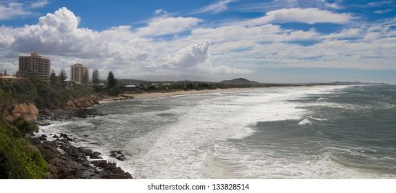 Very popular Australian tourist destination Coolum in Queenalnd. Located on the Sunshine Coast