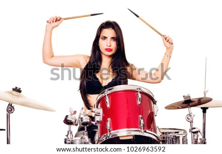 You Sexy female drummer free photos agree, the