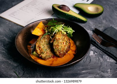 Very tasty meat cutlets